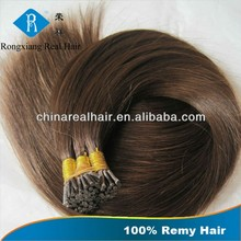 Remy Full Cuticles Italian Keratin Top Quality i tip hair extension