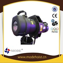 Mode M6-W electric chain hoist stage