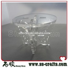 baby shower of cake stand Customized acrylic single cupcake stand Perspex acrylic Butter