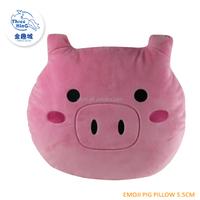 2015 Guangzhou iphone whatsapp emoji pink pig new pillows