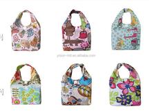 Fashion export folding waterproof thickening portable Shopping bag