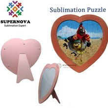 Printed wooden jigsaw puzzle, design your own MDF puzzle plaque, custom made paper puzzle game