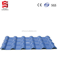 plastic pvc synthetic resin Roma style roofing tile