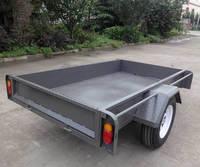 Brazzen small farm galvanized welded box trailer