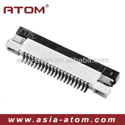 0.5mm pitch 4-60 Pin fpc connector Side Entry type Bottom Contact