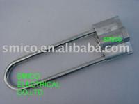 High strength aluminium alloy dead end clamp,tension clamp