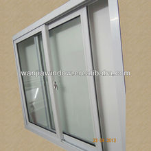 China manufacturer European style sliding type casement type pvc window