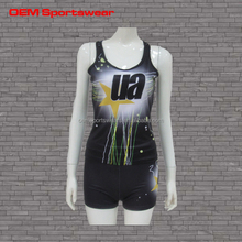 cheer practice wear polyester sublimation cheerleading uniform