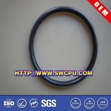Molded custom flat ring seal rubber O seal