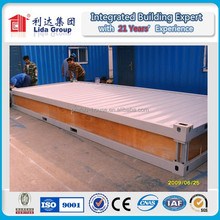 ISO 9001:2008 certified modular flat pack container house/office/shop room
