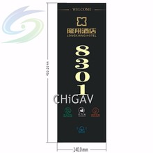 Hotel Electronic Doorplate, Touch Control Doorbell, LED Number Display