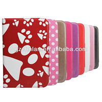 High quality stand universal leather case for 8 inch tablet pc, various designs