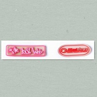 factory supply silicone labels name address tags etc