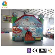 2015 Lovely Squirrel inflatable bouncy castle,jumping moonwalk with nice price