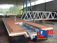 Jet Ski Special Design, WPC/Pine/Hardwood Decking, Aluminum/Steel Structure