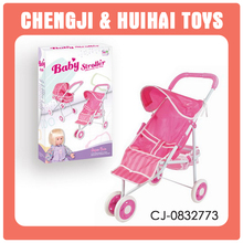 New item China wholesale beautiful pink toy car stroller
