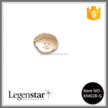 Legenstar 2015 wholesale little boy metal charms of open locket KM028