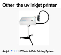 UV machine industrial inkjet printer UV v11 head self-clean small uv format printer hot sale