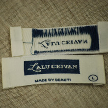washing instruction woven labels