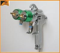 Double nozzle spray gun ningbo air tools new patent products paint remover machine water spray gun auto paint spray gun