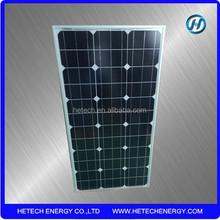 Monocrystalline sola panels 60 watt with CE certified