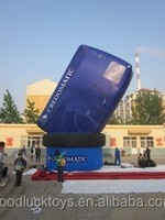 customized new style printed led inflatable advertising,inflatable model,advertising item