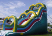 giant inflatable water slide for adult, inflatable wet slide large in factory