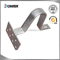Customized high quality stainless steel brackets for solar rook