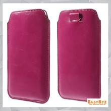 Pull-up Tab PU Leather Pouch for iPhone 6 Plus,PU Leather Pouch for iPhone 6 Plus,5 colors