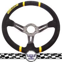 Wholesale 350mm Suede Car Steering Wheel