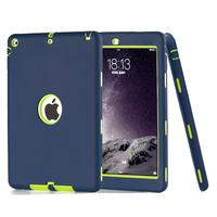 PC Silicon Hard Case for ipad air , for ipad 5 / ipad 6 hard tablet case