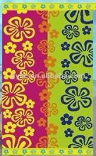 cotton Yarn dyed velvet inexpensive Beach Towel