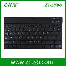 Ultra Thin ABS & Aluminum Wireless Black Keyboard
