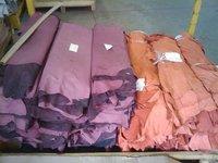 Pig fashion leather