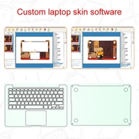 latest DIY laptop cover software/laptop case softer for sale