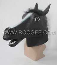 Funny & Crazy Animal Horse Full Head Mask For Costume Party Cosplay