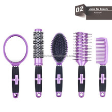colored hair brush professional