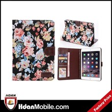Unique case for ipad mini 3,flower protect cover for ipad mini 3,for ipad mini 3 case