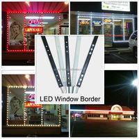 sign edge light store front led lights, led border light 5050 led track