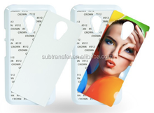 Factory Wholesale Cheap Prices!! sublimation mobile phone case for Moto G2 2nd generation