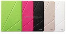 Tri-Fold Magnetic PU Leather Single Cover Case for iPad mini with Wake & Sleep Function
