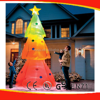 Lighted inflatable Xmas tree decoration for hot selling