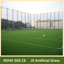 Double colors synthetic grass and rubber