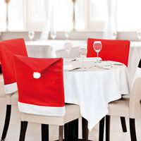 Europe and the United States sell high-quality goods Christmas table chair sets of Christmas supplies decorative Christmas hat A