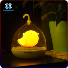 Wisdom Victory 2015 China Factory Supplier USB Rechargeable bedroom for kids led night light touch birdcage lamp