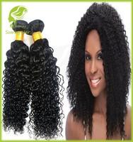 Brazilian Tight Curly Hair Brazilian Virgin Human Hair Weaving Hair