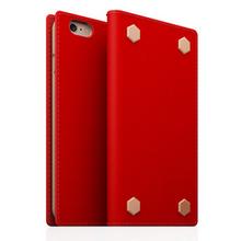 Durable Saffiano Calf Skin Leather Case for iPhone 6 Conchbag Original