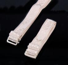 Wholesale Adjustable Elastic Jacquard Ribbon Bra Straps 1.5cm Women