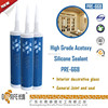 High performance Acetoxy Transparent Silicone Sealant