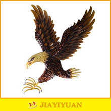 New Product Metal Bronze Eagle Statue, Metal Eagle Sculpture for wall decoration